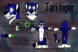Tari fursuit plan by Grion