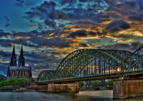 Cologne Cathedral HDR by Schift-Design