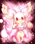 Mega Audino by Pikachim-Michi