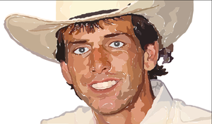 Lane Frost with Ai software by Dragon-Art14