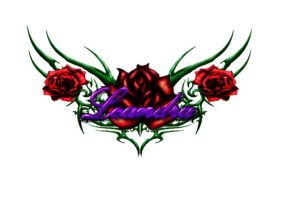 rose tattoo design by RyanAtchley