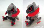 Shiny Haxorus Doll by d215lab