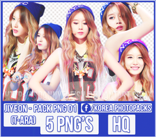 Jiyeon (T-ARA) - PACK PNG#01 by JeffvinyTwilight