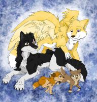 Commission - Vlad's Family by Firewolf-Anime