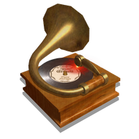 Steampunk Music Player Icon Mk3 by pendragon1966