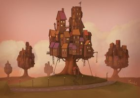 Treehouses by Maarchal