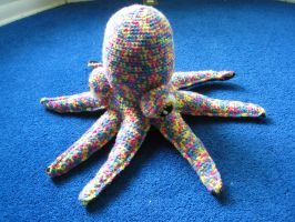 Rainbow Octopus II by skookyspry