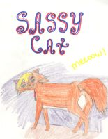 Sassy cat by rainofphyre