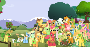 Apple Family (Clothed Braeburn) by AppleFamily