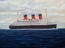 The Queen Mary by Pictaview