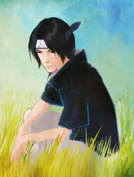 Young Itachi by digitaltart