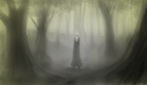 Ghostly Forest by luaudesigndf