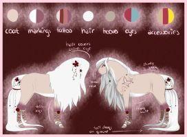 Ref Sheet - Rose by Rorelse
