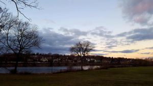 A January evening by GUDRUN355