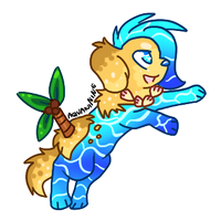 Aquanine Adoptable CLOSED by alfvie