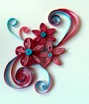 Quilled card by Craftcove