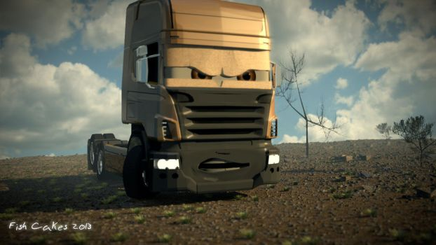 DirtDrivingTruck by TheFishCakes