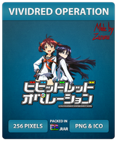 Vividred Operion - Anime Icon by Zazuma