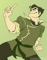 idk my bff Bolin by unbadger