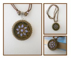 Pendant Lilac blooming by Comics-kinder