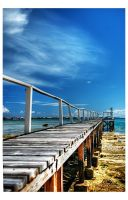 Fragile Dock by shuttermonkey