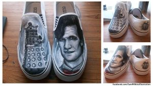 The Doctor Custom Shoes by samwell2