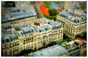 Paris tilt shift 3 by fifoux