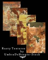 Rusty Textures by UmbraDeNoapte-Stock