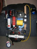 Real Ghostbusters: Proton Pack by AngstyGuy