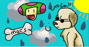 iScribble Mac and crub by animlcrosr