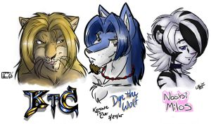 Heavy Metal Anthros by KensukeTheCat