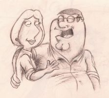 Peter and Lois by Efalt