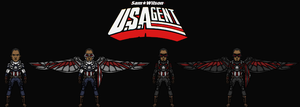 Sam Wilson: the U.S.Agent (New Earth) by Nova20X