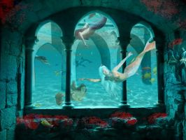 Life under the sea by brittanyandalvin