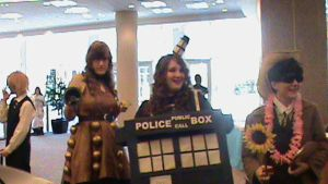 A Dalek, a Tardis, and the Doc by thatkingsmanchef