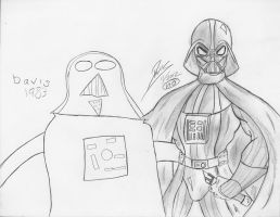 Vader then and now by sdavis7294
