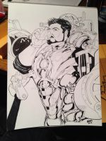 Iron Man's last call for Alcohol by RadPencils