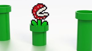 Piranha Plant in a 3D World by HunterDog