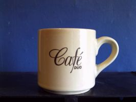 Cafe Duo Small Mug by theoldhorse2