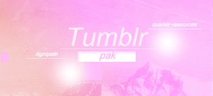 //PACK TUMBLR by quartet-resources