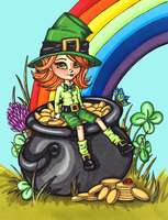 Pot of Gold by JadeDragonne