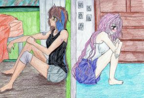 I miss you... by haine-bear