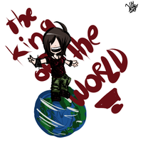 Im The king of the world by Luciph