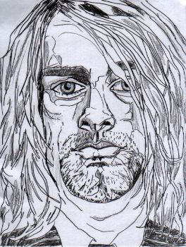 Kurt Cobain by TheParodist