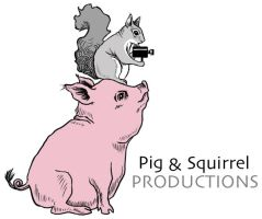 Pig and Squirrel Logo by itoinez