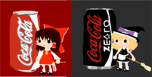 Coke is nice. by SoraValentine