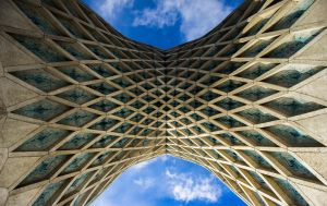 Symmetry Of Azadi Tower by Pooyan91
