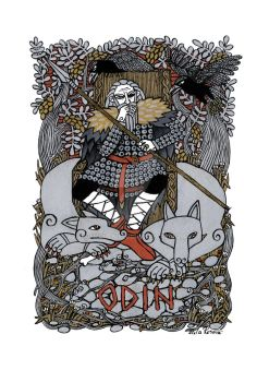 Odin by Hellanim