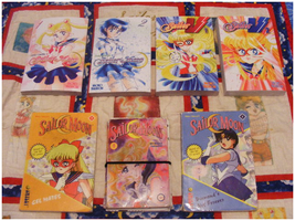 My Sailor Moon Book Collection by Sweet-Blessings