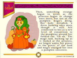 Another Princess Story - Princess Pumpkin Sorceres by Dragon-FangX